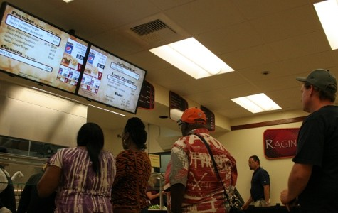 Newly renovated cafeteria offers healthier food choices and relaxing environment
