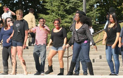 ASG performs 'Thriller' dance to promote Halloween on campus
