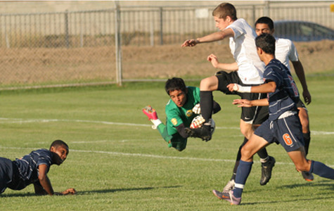 Men's soccer loses crucial home game