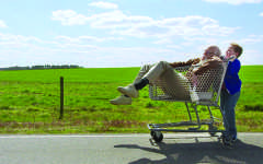 Grandpa behaves badly in newest 'Jackass' movie