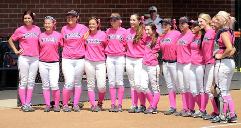 Pink Softball Uniform 76