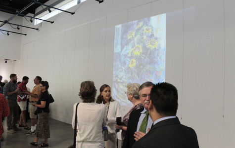 The world of art comes to campus as new gallery opens