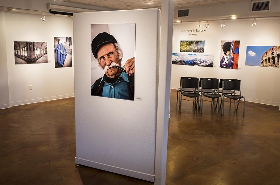 Professor exhibits photos of Europe