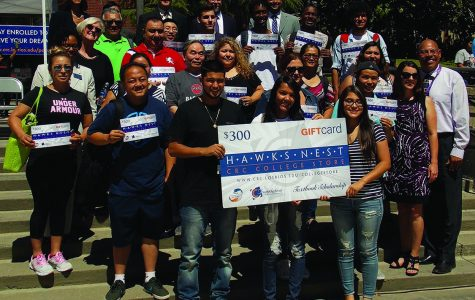 Students enter raffle to receive textbook scholarship