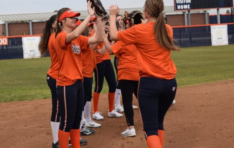 The softball team is starting their season with confidence and excitement