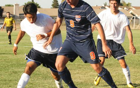 Men's soccer earns first win against Yuba City
