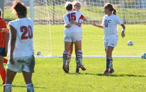Women's soccer falls to Big 8 rival Santa Rosa 4-0