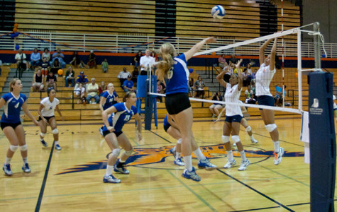 Volleyball team comes up short on fan appreciation night