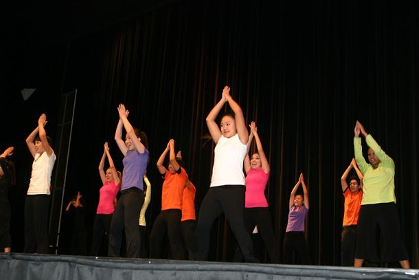 Students and staff celebrate Martin Luther King Jr.
