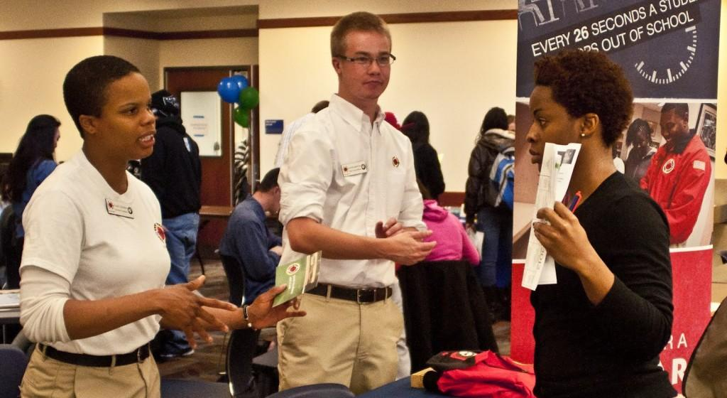 Annual career fair allows students at CRC to network with professionals