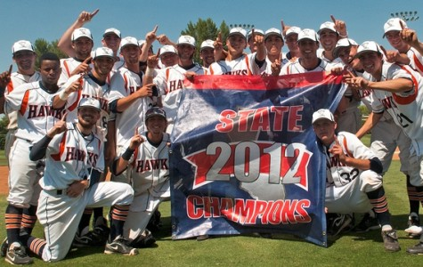 Hawks baseball wins 2012 California Community College State Championship