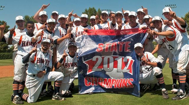 Hawks+baseball+wins+2012+California+Community+College+State+Championship