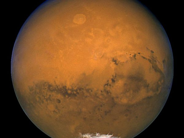 Mars from Hubble-Courtesy photo