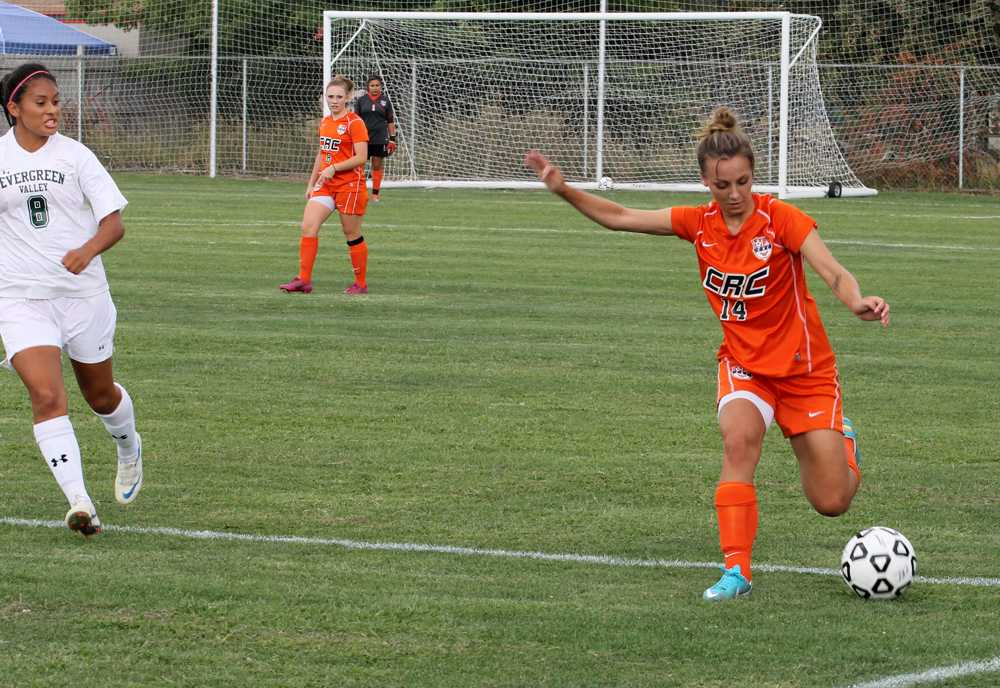 Hawks soccer player displays leadership through passion for the game