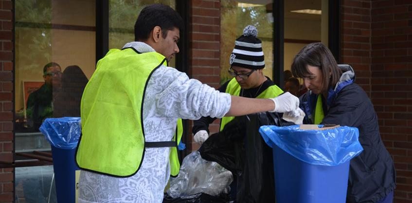 Going green: CRC celebrates first sustainability day