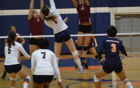 Volleyball team still optimistic despite loss to Sierra