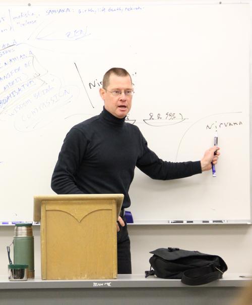 Martial arts philosophy teaches brain over brawn