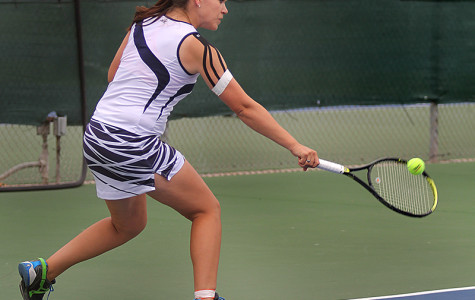 Short-handed Women's tennis wraps up season on high note