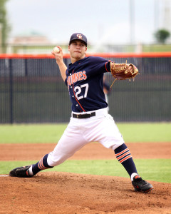 Hawks' pitcher wins Student Athlete of the Month