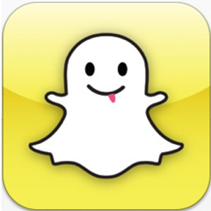 The mascot of Snapchat, Ghostface Chillah, is pictured on the phone icon and website for the app.