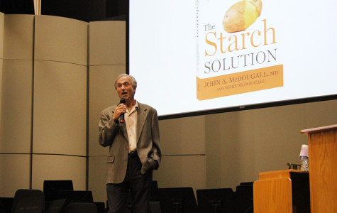 Doctor and author educates campus on the benefits of a starch filled diet
