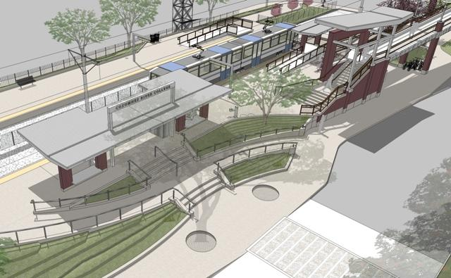 New phase of ongoing construction necessitates bus route changes