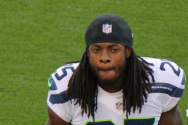 Seattle Seahawks cornerback Richard Sherman in 2012.