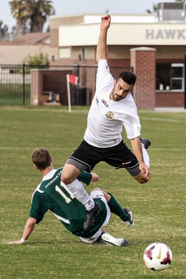 Sacramento Republic FC held their first scrimmage against Sacramento State University at CRC on Feb. 25.