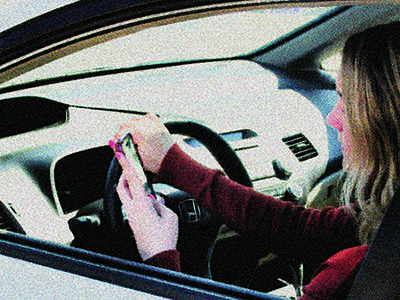 Distracted driving puts others' lives at risk
