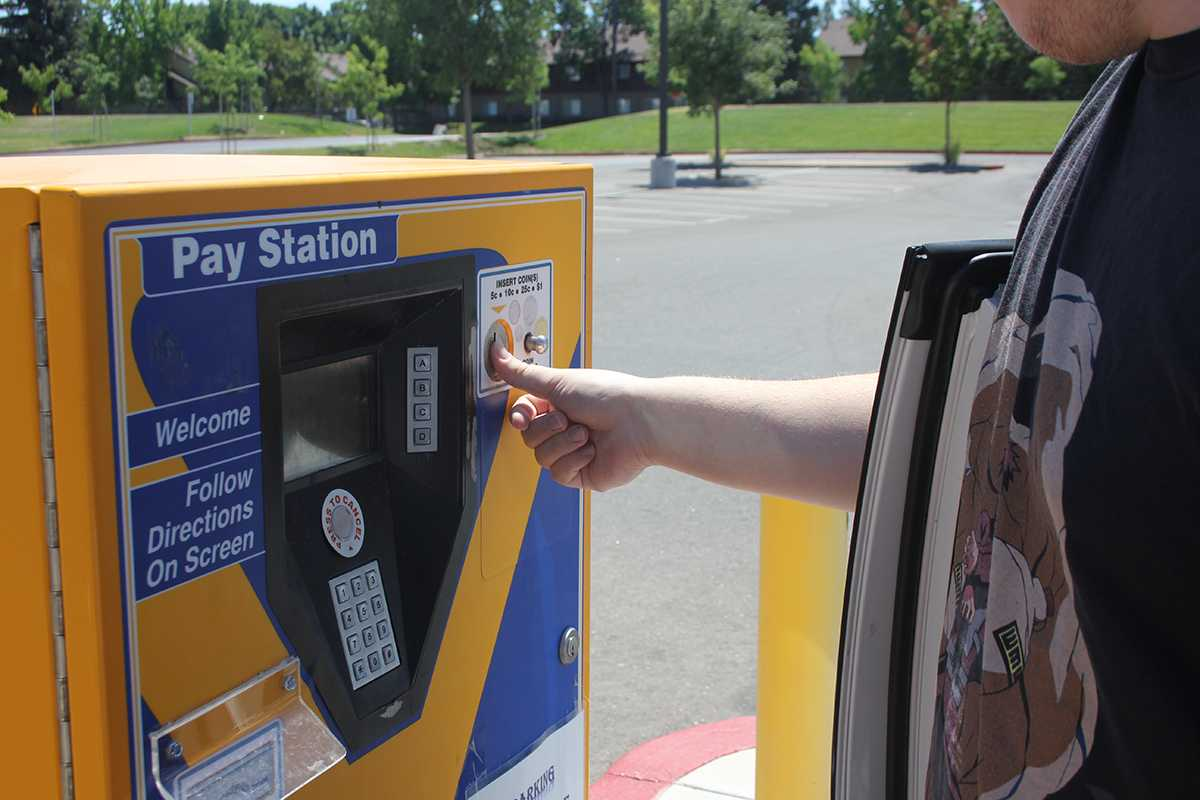Daily parking slips from the various machines across campus, like the one pictured, are now $2 per day. Semester long parking permits remain the same until next semester when they will rise as well.