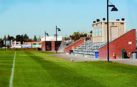 Fields for both the men's and women's soccer were just two of the upgraded facilities that Cosumnes received through taxpayer supported Measures M and X. A field for the baseball team and another for the softball team, through the same measures, were completed and dedicated alongside the soccer fields in March 2013.