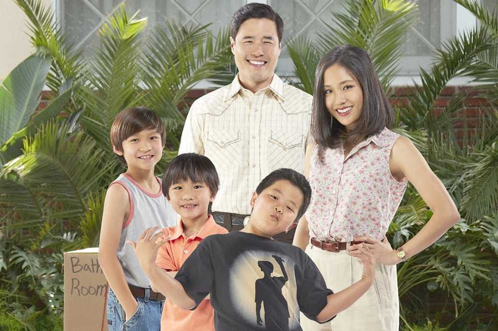 Randall Park and Constance Wu play Louis and Jessica Huang, fictionalized versions of the parents of celebrity chef Eddie Huang on ABC's new comedy offering.