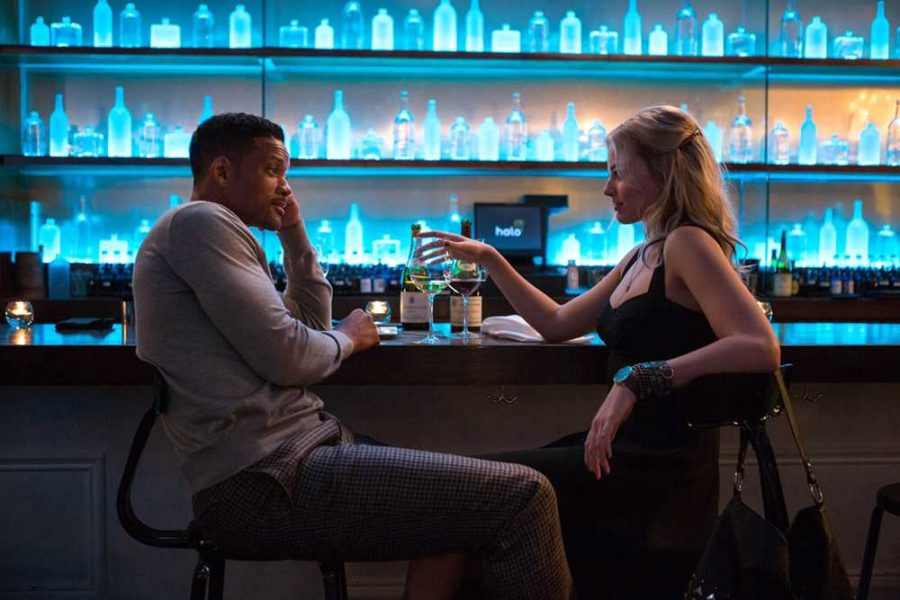 Will+Smith+and+Margot+Robbie+co-star+as+con+artists+in+the+new+Warner+Bros.+film+%22Focus.%22