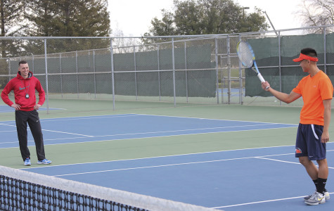 Coach travels from across the pond to reinvent the campus' tennis program
