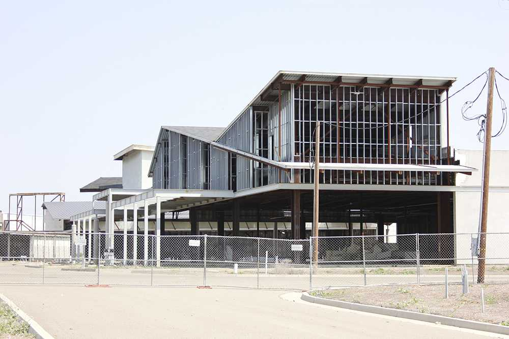 The half-built shell of the Elk Grove Promenade shopping mall has remained untouched since construction was halted in 2008. Now owned by the Howard Hughes Corp., the proposed shopping center faces further delays.