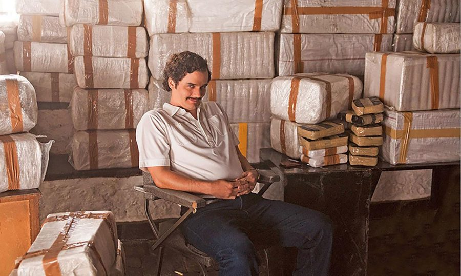 Wagner Moura stars as infamous drug lord Pablo Escobar in the new Netflix original series