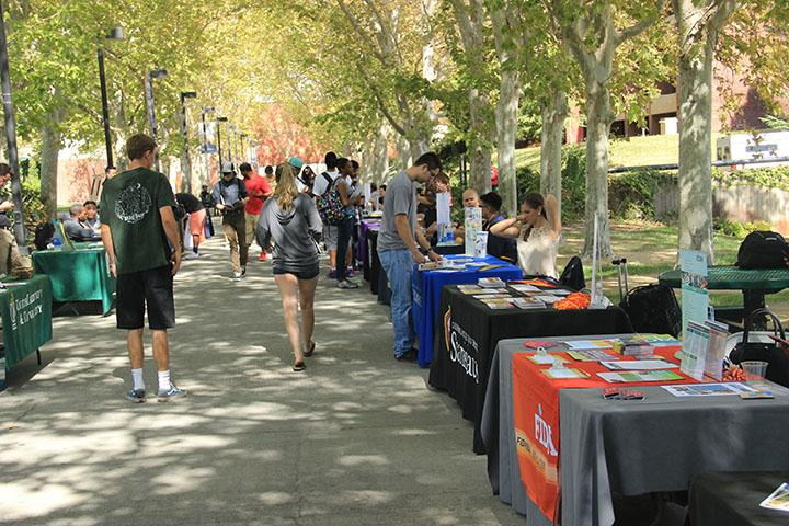UC's, CSU's and Independent school outreach representatives aid CRC students in the transfer process on Oct. 7