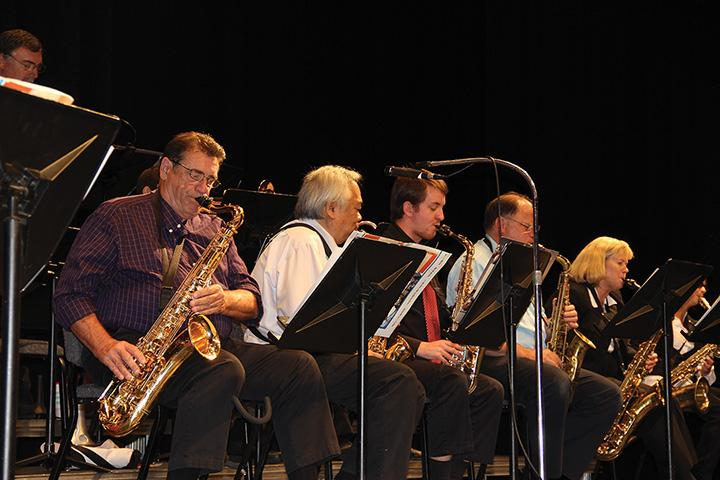 The CRC Jazz Ensemble performed in the Recital Hall on Sept. 24. The performance encompasses the roots of American jazz.