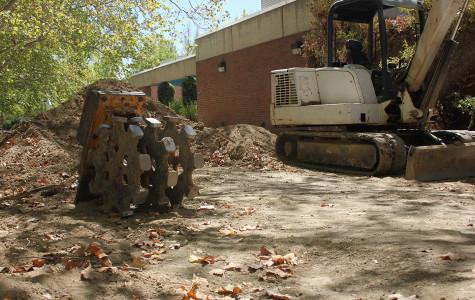 The construction to CRC's HVAC system is estimated to end Nov. 1. The replacement of the pipes will provide more control to the water and air temperatures throughout campus buildings.