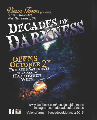 Decades of Darkness is open all of Halloween week