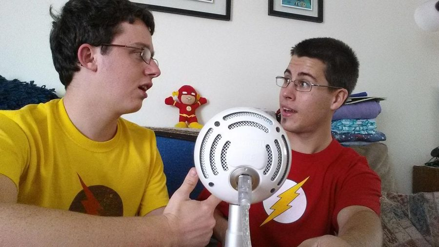 Philip+Maynard+and+Anthony+Hernandez+during+the+%22SpeedForce%27+podcast