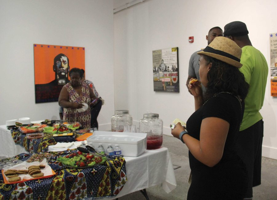Art exhibit influences a positive image on African American community