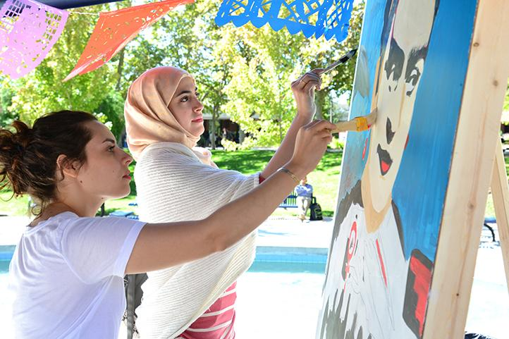 Mural celebrates Latinx community