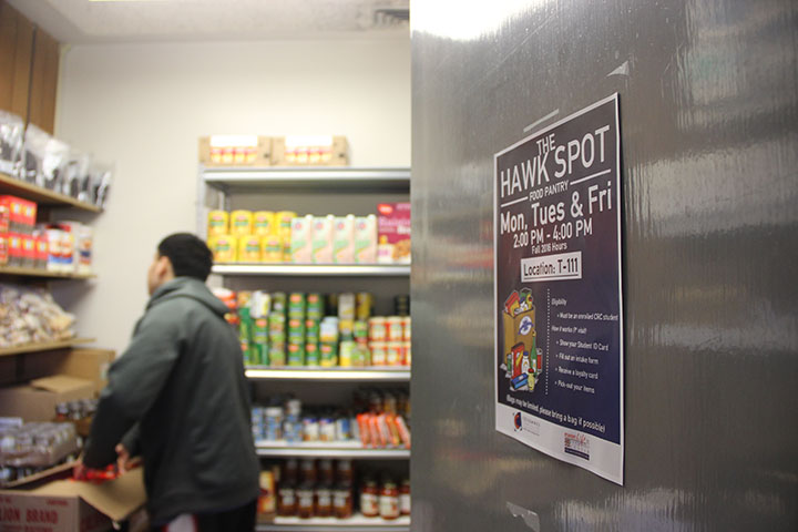 Food pantry provides students with food security