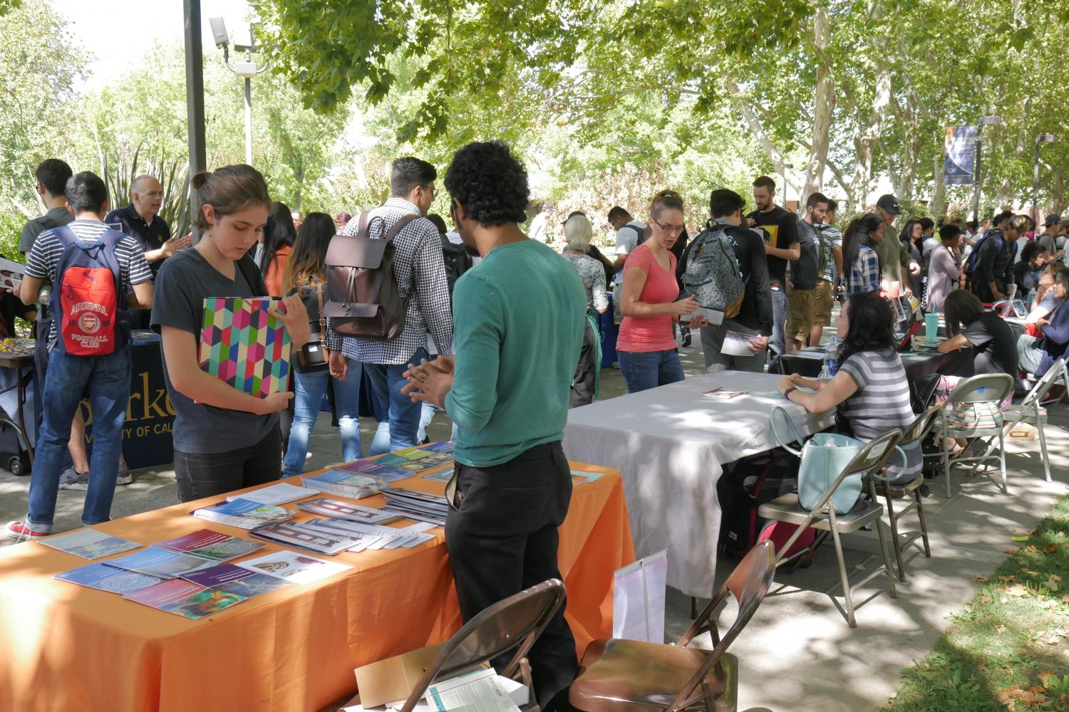 Transfer Day gives students the chance to find out more about surrounding colleges, as well as out of state.