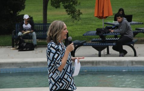 History Professor Diana Reed speaks about the U.S. Constitution and the ways that it unites our country on Sept. 14.