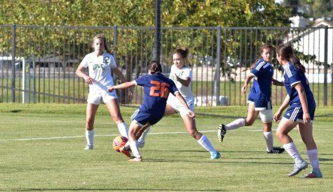 Women's soccer suffers hard loss to Diablo Valley 3-1