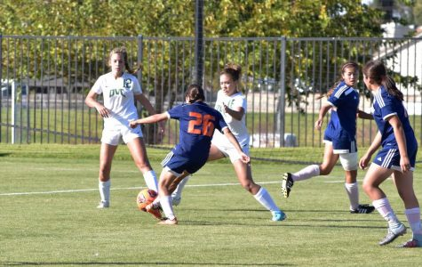 Women's soccer suffers hard loss to Diablo Valley 3-1