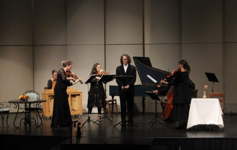 Sacramento Baroque Soloists team up with the music department for a fun-filled performance