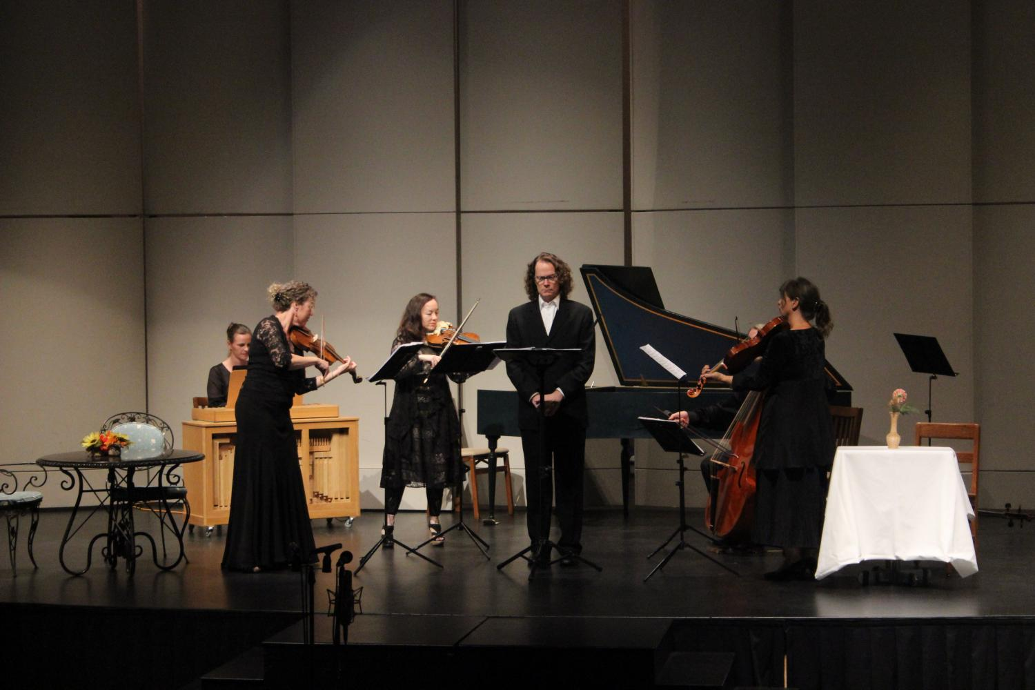 David Keller performs with the Sacramento Baroque Soloists on Oct. 9.